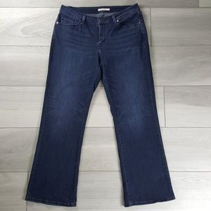 Levi's 529 Womens Curvy Bootcut Jeans Size 33